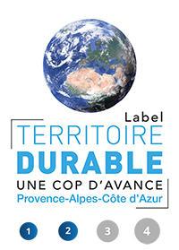 Logo des Label Territoire durable, une Cop d'avance Provence-Alpes-Côtes d'Azur