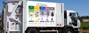 Photo d'un camion poubelle du Pays d'Aix