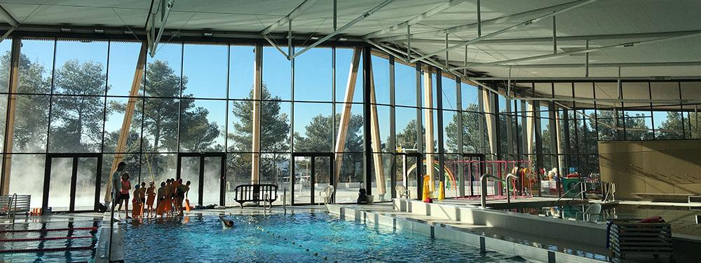 Photo intérieure du centre aquatique Sainte-Victoire situé à Venelles
