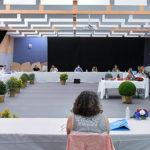 Photo de l'installation du Conseil municipal