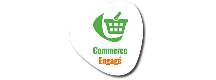 Logo du Label commerce engagé
