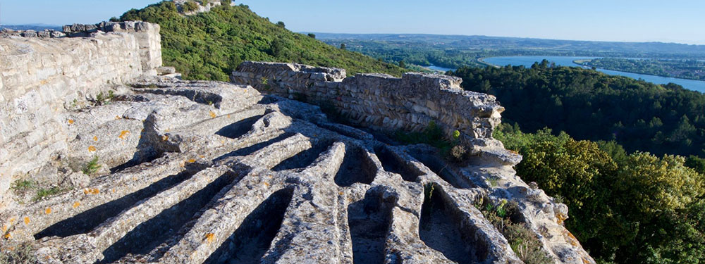Photo de l'Abbaye Troglodyte de Saint-Roman de Beaucaire