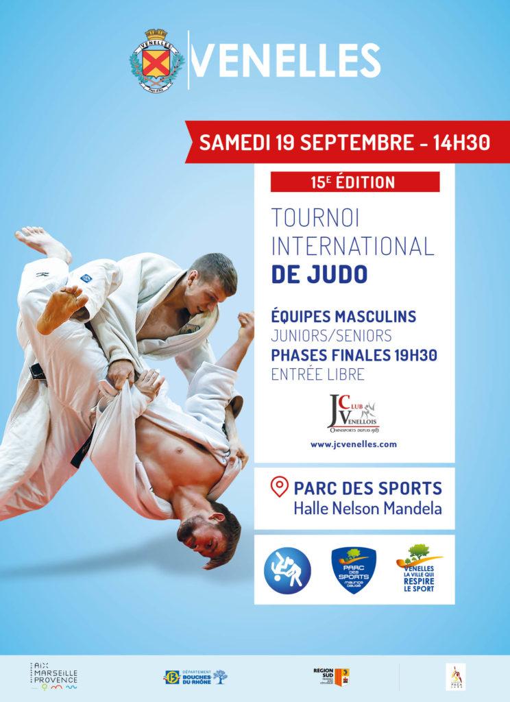 Affiche du prochain tournoi international de Judo