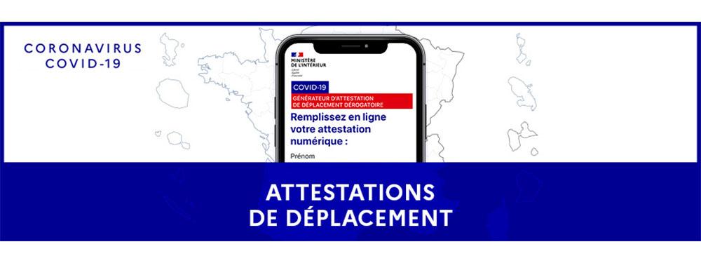 15 12 Covid 19 Attestations De Deplacement Papier Numerique Venelles Fr