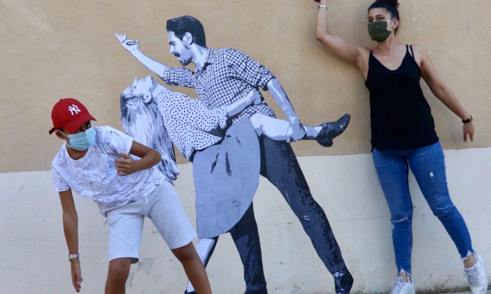 Entrez dans la danse avec les collages éphémères du collectif Le Mouvement.