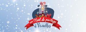 """Visuel """"un Noël de partage à Venelles"""""""