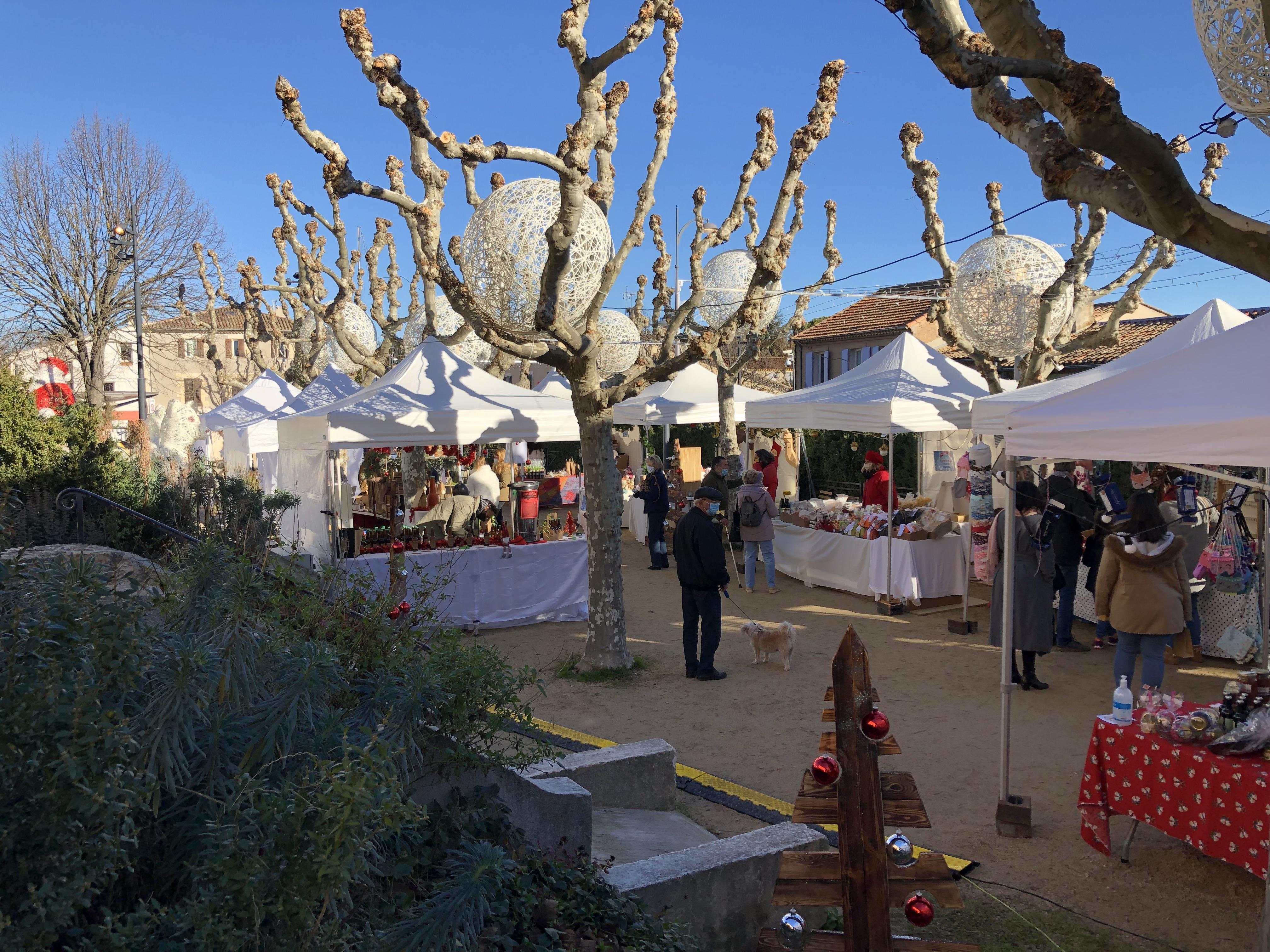 Photo du marché de Noël