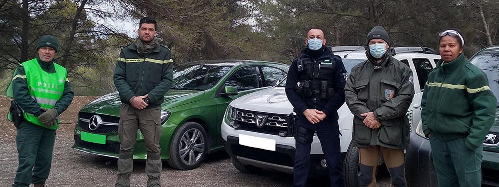 Photo de l'équipe de protection de notre forêt venelloise