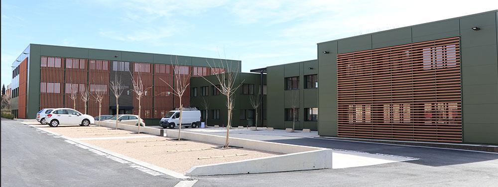 Photo des nouveaux locaux du pôle aménagement de la ville de Venelles