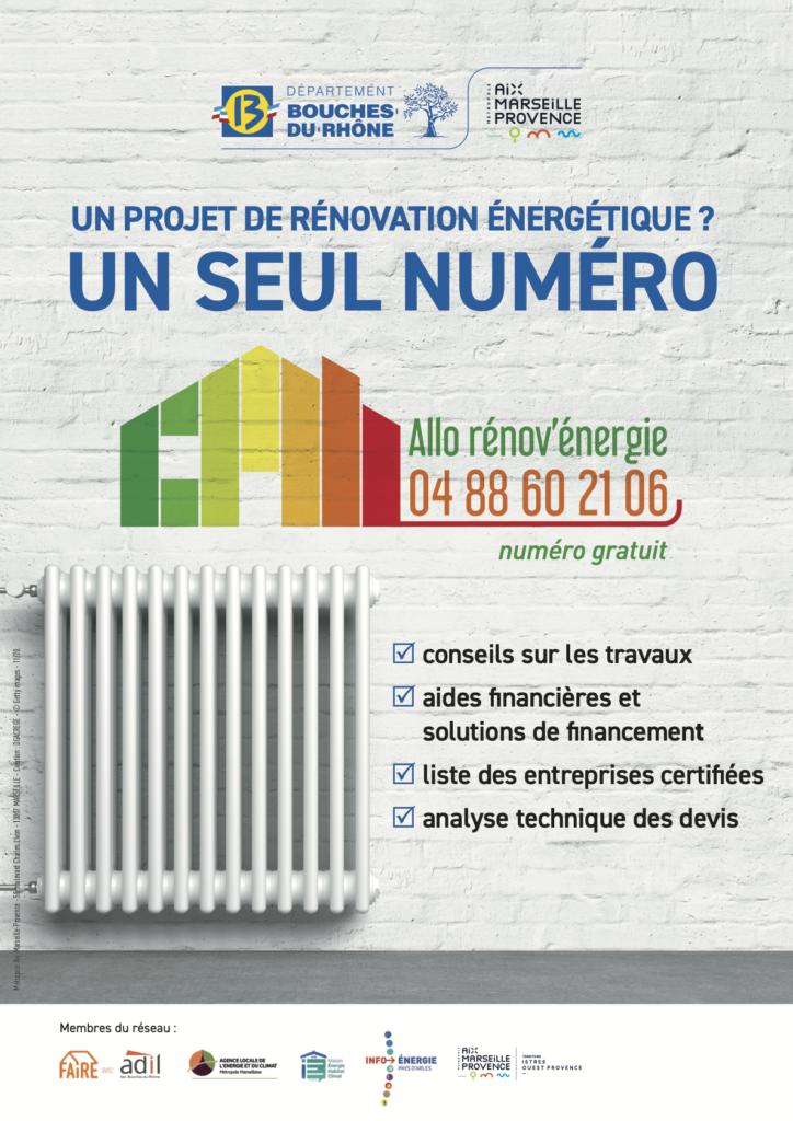 Affiche aide rénovation habitat