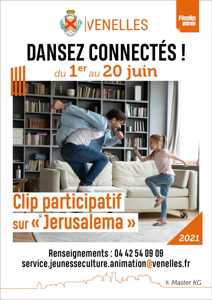 Affiche de l'animation Dansez connectés