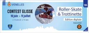 Affiche du contest de glisse de l'USV
