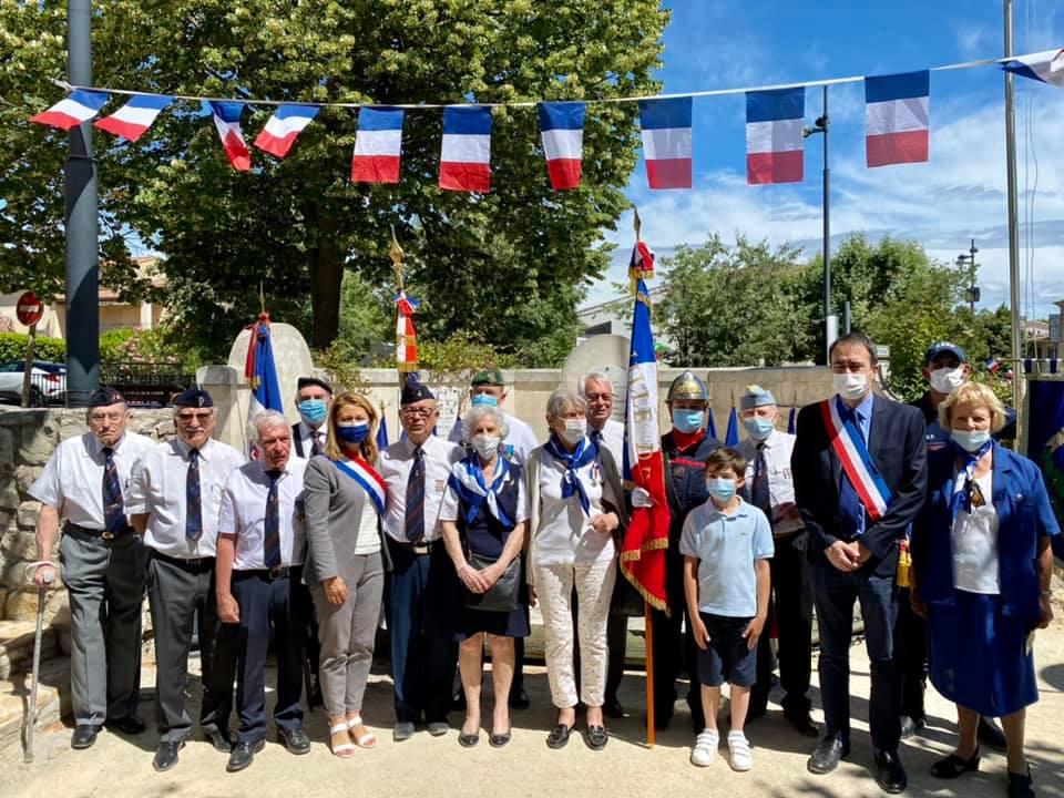 Photo de la commémoration du 14 juillet