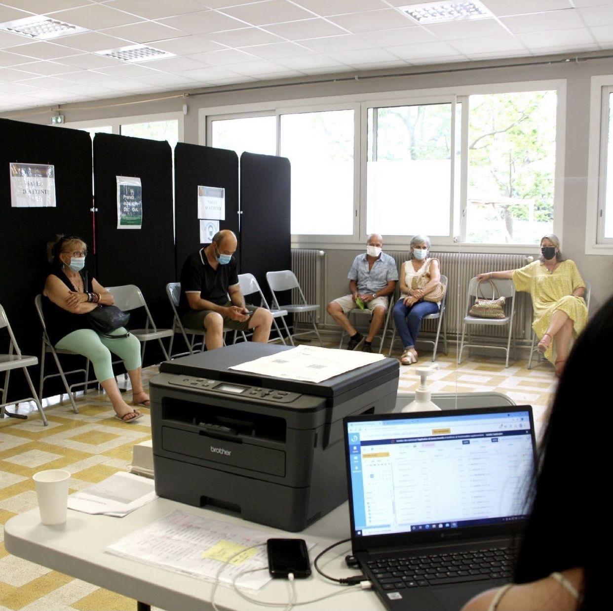 Photo de la salle d'attente du Centre sud Durance