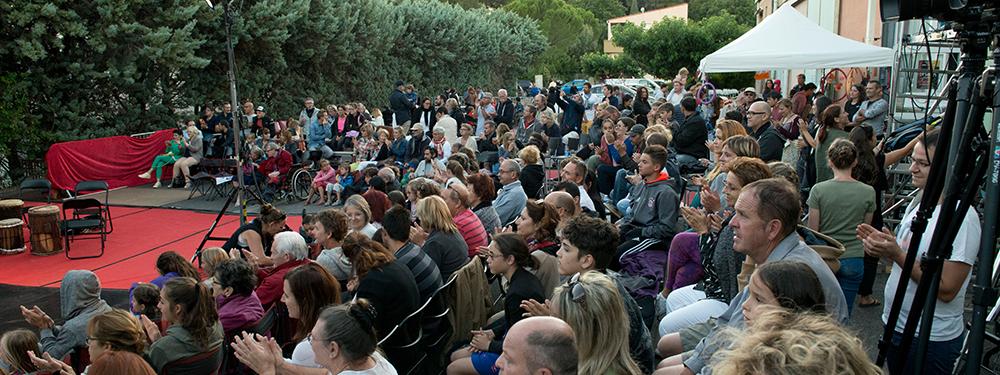 Photo du public du Festival l'Entre 2 de l'entrepôt