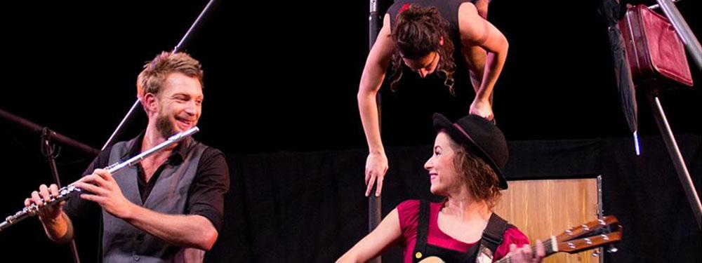 Photo du spectacle de la compagnie Eos