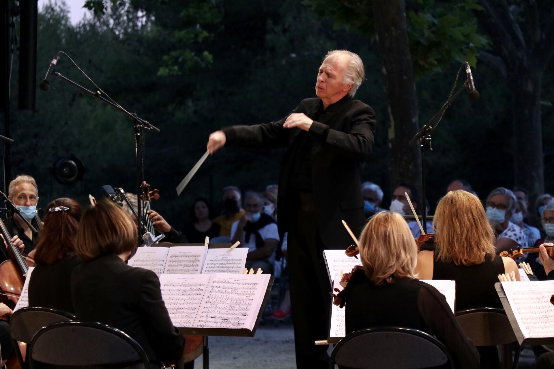 Photo du concert de l'orchestre philharmonique du Pays d'Aix