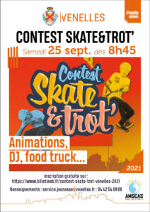 Affiche Contest Skate & Trot'