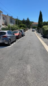 La rue des Isnards rénovée