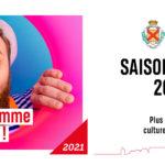 Affiche du nouveau programme culturel 2021-2022