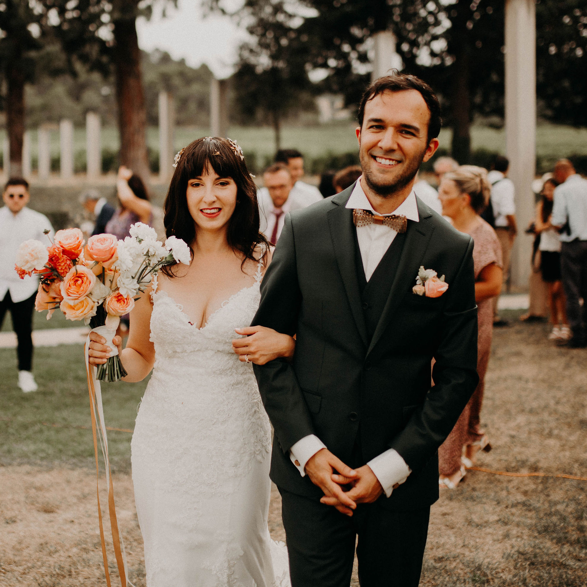 Photo du mariage de Nathalie Cubero et Julien Fougeras