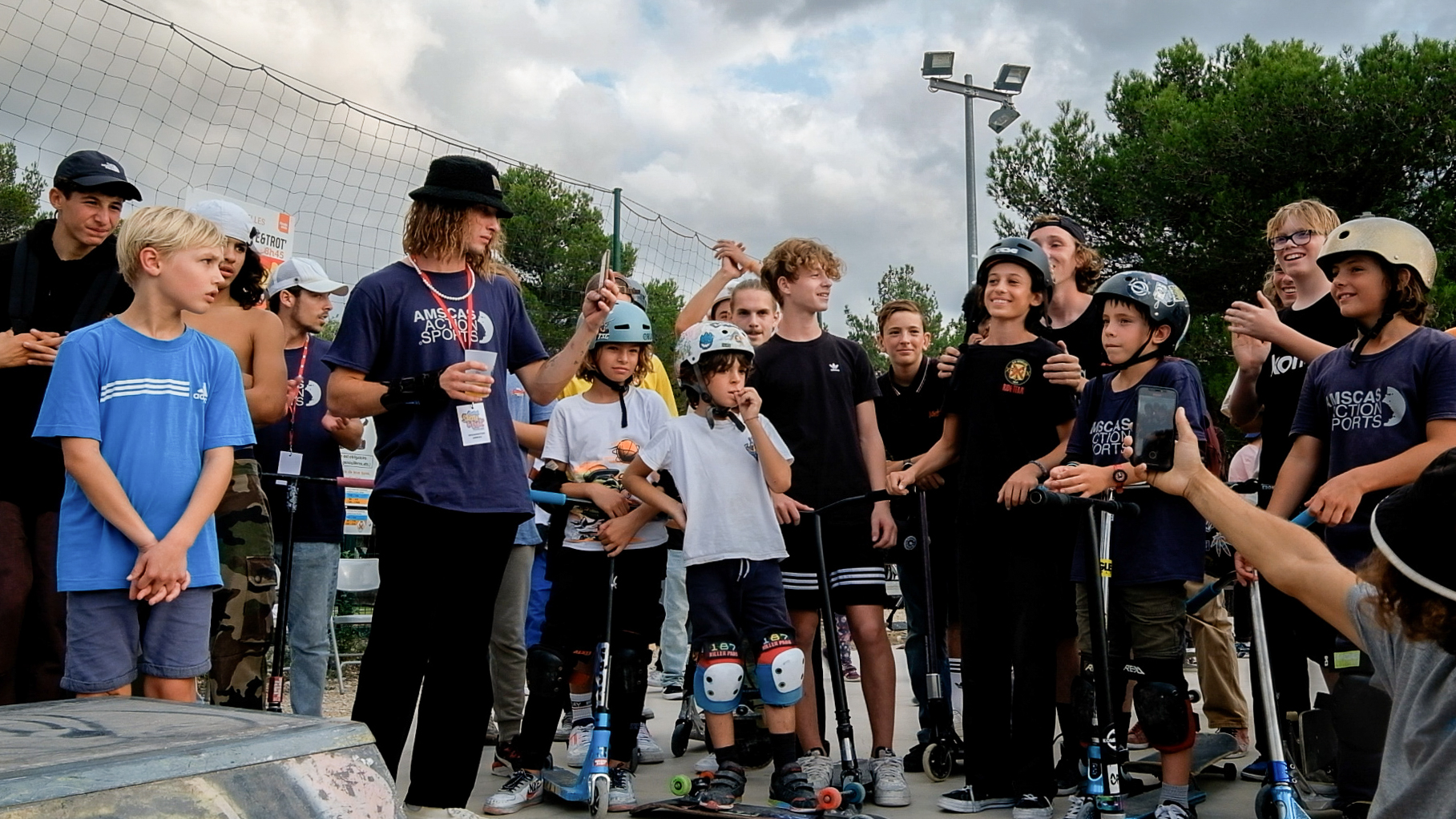 """Photo des gagnants du Contest """"Skate & Trot"""""""